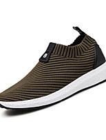 Men's Sneakers Spring Summer Comfort Light Soles Tulle Outdoor Athletic Casual Flat Heel Running