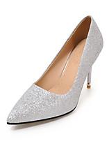 Women's Heels Club Shoes Synthetic Wedding Party & Evening Dress Stiletto Heel Sequin