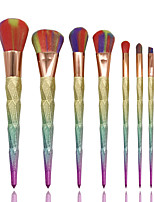 7pcs Contour Brush Makeup Brush Set Blush Brush Eyeshadow Brush Brow Brush Concealer Brush Foundation Brush Synthetic HairProfessional Full