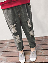Girl Casual/Daily Solid Pants-Rayon Spring Fall