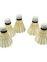 1 Pièce Badminton Volants Etanche Durable pour Intérieur Extérieur Utilisation Exercice Sport de détente Plume d'oie #