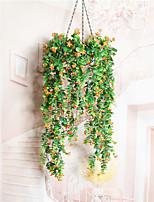 1 Branch Dried Flower Azalea Wall Flower Artificial Flowers