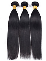 Natural Color Hair Weaves Burmese Texture Straight 12 Months 3 Pieces hair weaves