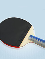 Ping Pang/Настольный теннис Ракетки Ping Pang/Настольный теннис Бал Ping Pang Резина Длинная рукоятка Прыщи2 Ракетка 3 Мячи для