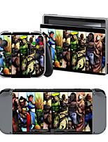 B-Skin®   Street Fighter Cover Sticker For Nintendo Switch Novelty Portable