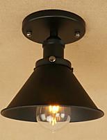 Luzes Pingente ,  Retro Rústico Pintura Característica for LED Estilo Mini Designers MetalSala de Estar Sala de Jantar Quarto de