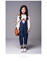 Girls' School Solid Sets,Cotton Summer Spring Clothing Set