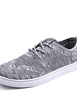 Hot Sale Man's Flyknit Tulle Shoes Casual Fashion Sneakers Light Soles Light Up Sneakers Spring / Summer Comfort  Outdoor / Office/ Funny Casual Shoes