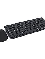 E19 ultra-mince bluetooth 3.0 kit de clavier souris sans fil