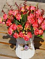 1 Филиал Розы Букеты на стол Искусственные Цветы 35*35*30