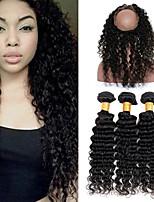 One Pack Solution Перуанские волосы Крупные кудри 12 месяцев 4 предмета волосы ткет