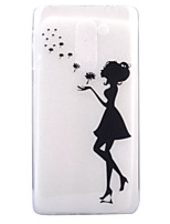 For HUAWEI 6X P8Lite(2017) Case Cover Girl Pattern HD TPU Phone Shell Material Phone Case