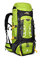 55 L Hiking & Backpacking Pack Camping & Hiking Climbing Rain-Proof Dust Proof Multifunctional