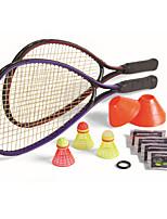 Badmintonschläger 50.0*20.0*5.0 Hochelastisch Dauerhaft für Draußen Legere Sport Kohlefaser