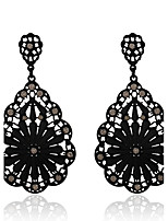 Crystal Geometric Drop Earrings Jewelry Pendant Bohemia Party Daily Casual Crystal Alloy 1 pair Multi Color