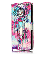 For Huawei P10 Lite P10 PU Leather Material Butterfly Chimes Pattern Painted Phone Case P8 Lite (2017) P9 Lite P8 Lite