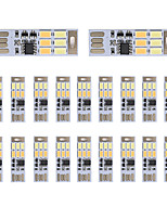 BRELONG Dimming USB 3W 6x5730 Night Light Touch Switch Touch  Dual Light Color (DC5V) 20pcs