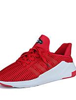 Homme-Extérieure Décontracté Sport-Noir Gris Rouge-Talon Plat-Semelles Légères Confort Mary Jane-Baskets-Tulle