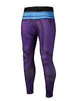 Femme Pantalon/Surpantalon Escalade Respirable Séchage rapide Haute respirable (>15,001g) Confortable Printemps Eté Automne Violet-SPAKCT®