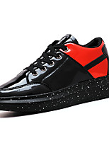 Men's Shoes Casual Fashion Sneakers Black / Red/Sliver