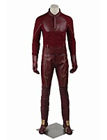Cosplay Costumes Party Costume Super Heroes Cosplay Movie Cosplay Solid Coat Pants Gloves Belt Weapons and Armor Boots CapHalloween
