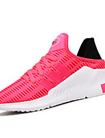 Women's Sneakers Spring Summer  Couple Shoes Light Soles Tulle Outdoor Athletic Casual Flat Heel Lace-up Running Shoes