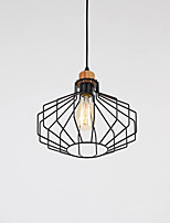 Pendant Light ,  Modern/Contemporary Rustic/Lodge Country Painting Feature for LED Metal Living Room Bedroom Dining Room Study Room/Office