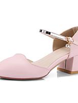 Feminino-Saltos-Sapatos clube-Salto Grosso Salto de bloco--Courino-Social