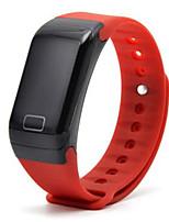 monitorização da pressão frequência cardíaca sangue pulseira inteligente pedômetro impermeável ios android e bracelete do bluetooth