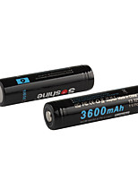 Soshine 2PCS  3600mAh Protected 18650 3.7V Li-ion Lithium Rechargeable Batteries Set