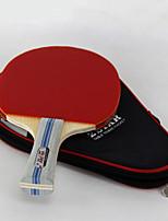 2 Звезды Настольный теннис Ракетки Ping Pang Корковая пробка Короткая рукоятка ПрыщиНа открытом воздухе Выступление Практика Активный