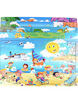Jigsaw Puzzles Wooden Puzzles Building Blocks DIY Toys Square 204 Leisure Hobby