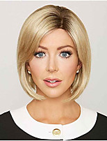 Blonde Short Capless Wig for American and European Ladies Heat Resistant