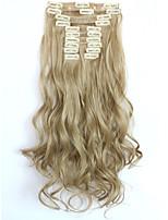 Mit Clip Synthetik Haarverlängerungen 150 Haar-Verlängerung