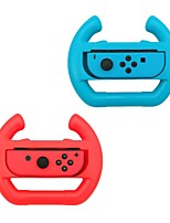 Joy-Con Wheel GameWill for Nintendo Switch Controller-Blue&Red (Set of 2)