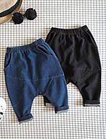 Pantalons Garçon Décontracté / Quotidien Couleur Pleine Printemps Automne