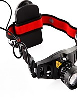 Headlamps LED Lumens Mode AAA Easy Carrying Camping/Hiking/Caving Everyday Use Outdoor Aluminum alloy