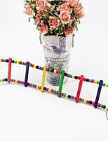 птица игрушки деревянной многоцветный