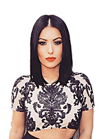 Synthetic Wigs Black Short Cheap Bob Wigs Heat Resistant For Afro Women