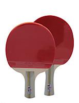 Ping Pang/Tennis de table Raquettes Ping Pang/Tennis de table à billes Ping Pang Liège Long Manche Boutons2 Raquette 3 Balles de Tennis