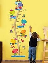 Геометрия Наклейки Простые наклейки Линейка роста,Винил материал Украшение дома Наклейка на стену