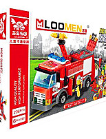 Fire Engine Vehicle Toys Car Toys 1:25 Plastic Red Model & Building Toy