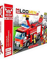 Feuerwehrauto Spielzeuge Auto Spielzeug 1:25 Plastik Rot Model & Building Toy
