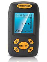 Détecteur de Poissons Etanche LED Autre LCD LED verte Avec fil 4×AAA Plastique dur Alose jaune
