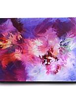 Pintura al óleo caso del macbook del modelo púrpura para el macbook air11 / 13 pro13 / 15 favorable con retina13 / 15 macbook12