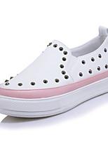 Women's Sneakers Spring Summer Fall Winter Club Shoes PU Office & Career Party & Evening Dress Platform Rivet