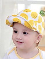 Kid's Cute Cotton Print Lemon Peaked Boys/Girls Baseball Cap Hats From 1 To 4 Years Old