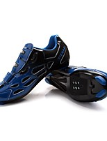 Chaussures Vélo / Chaussures de Cyclisme Unisexe Respirable Vestimentaire Extérieur Boucles Similicuir Cyclisme