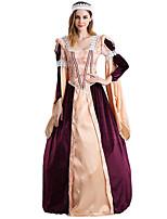 Una Sola Pieza/Vestidos Gosurori Amaloli Lolita Clásica y Tradicional Punk Inspiración Vintage Elegant Victoriano Rococó Princesa Cosplay