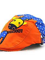 Children's Tide Cool Comfortable Cotton Han Edition Cute Cartoon Hat Animal Sun Hat Peaked Cap